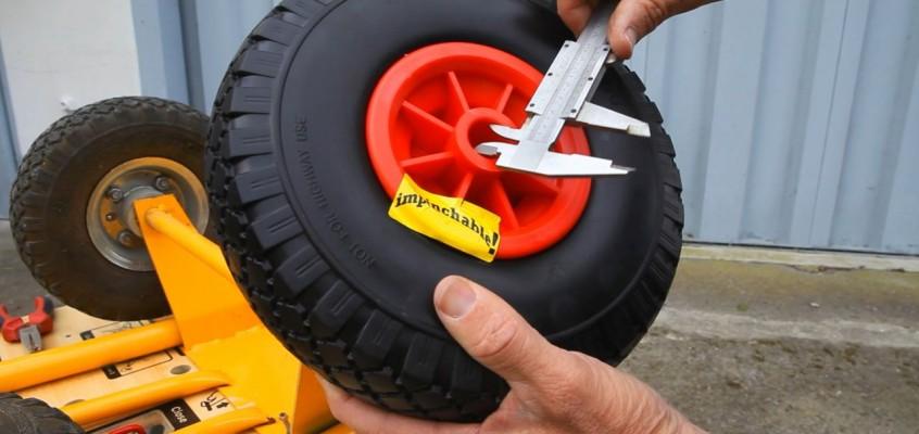 Cómo elegir las ruedas correctas para tu carretilla.