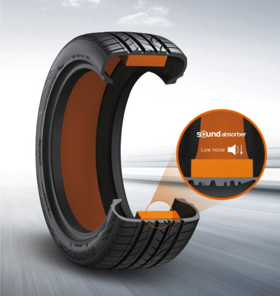 Tecnología Hankook Sound Absorber ®