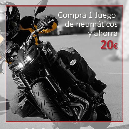 Promoción Neumáticos Moto – Modelos Sportattack 3 y Contiroadattack 3 (Continental)