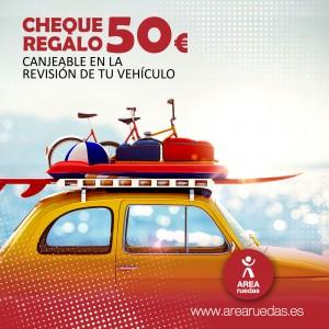 En Área Ruedas te ayudamos a que tus vacaciones sean más seguras!!